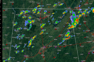 1 p.m. Radar Update