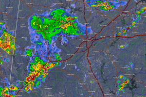 Strong Storms Affecting Many Areas Across Central Alabama