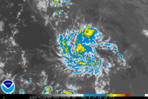 Depression Expected To Degenerate To A Remnant Low Or A Tropical Wave On Friday