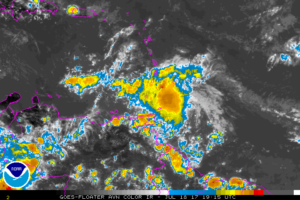 Don Degenerates To An Open Wave Over The Far Southeastern Caribbean Sea