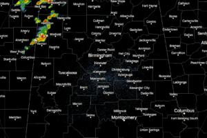 Strong Storms Affecting Lamar, Marion and Fayette Counties