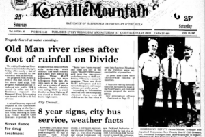 July 17, 1987 – Flooding Creates Havoc On The Guadalupe River