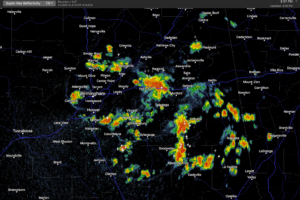 Strong Storms Over Parts Of Alabama