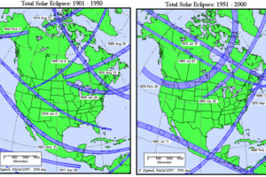 Solar Eclipses Past and Future