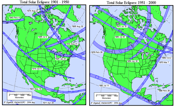 Solar Eclipses Past And Future The Alabama Weather Blog