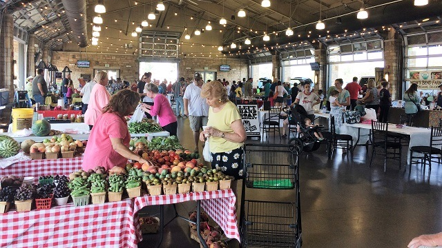 Tuscaloosa Farmers' Market Adds Fresh Boost To River Market