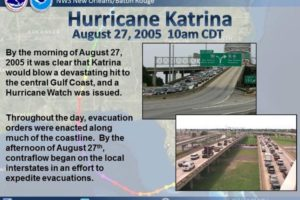 Remembering Katrina:  Still No Mandatory Evacuation for New Orleans On This Date in 2005