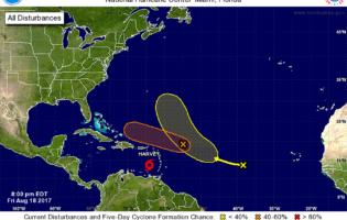 The Latest on the Tropics…