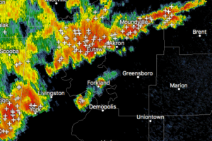Strong Storms Affecting Sumter County