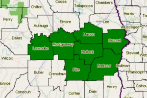 And Even More Counties Have Been Trimmed From The Flash Flood Watch