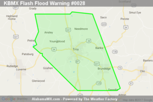 Flash Flood Warning Extended For Parts Of Pike County Until 9:15PM