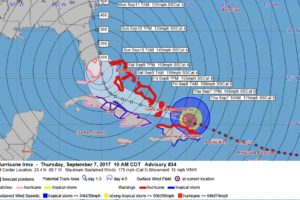 Hurricane Watches, Storm Surge Watches Issued for South Florida
