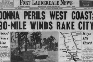 Today is the 57th Anniversary of Hurricane Donna Striking the Keys