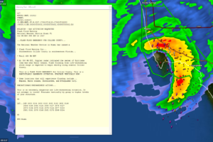 Flash Flood EMERGENCY For Storm Surge Along Collier County Coast
