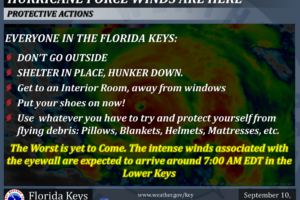 My Mom Must Be Working at the NWS Key West