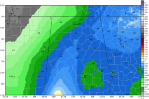 Way Later Than Midday Look at Central Alabama's Weather