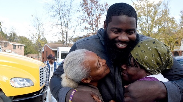 NFL Star Mario Addison Comes Home To Birmingham To Give Thanks And More