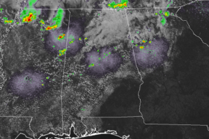 A Mid-Afternoon Look At Central Alabama's Weather