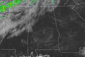 Clouds Moving In At Midday… Could We See Some Sprinkles Tonight?
