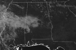 At A Little Later Than Midday, Skies Clearing Out Across Central Alabama