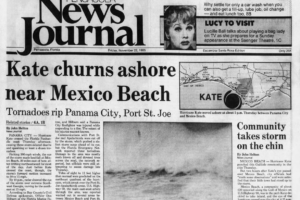 November 21, 1985: Hurricane Kate Makes Landfall Near Mexico Beach, Florida
