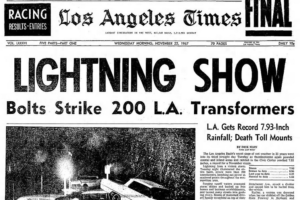 November 21, 1967: Worst Rain To Hit Los Angeles In Nearly 30 Years