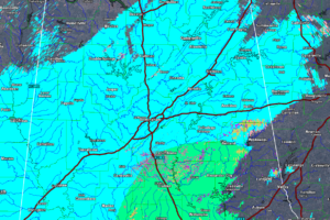 Widespread Snow Across Central Alabama This Morning