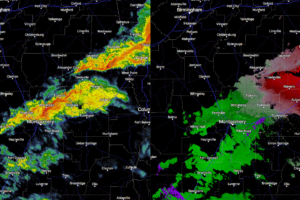 A Brief Look At Central Alabama's Weather Situation At Midday