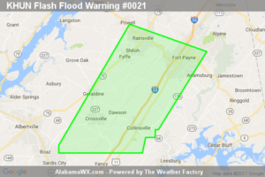 Flash Flood Warning Canceled For Parts Of Dekalb County