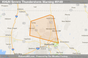 Severe Thunderstorm Warning Canceled For Parts Of Madison County