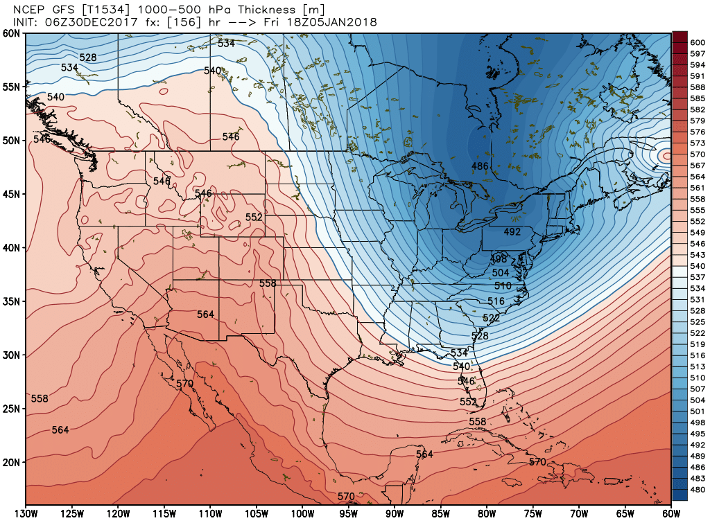 Arctic air moving in this weekend