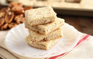 Recipe: Easy Pecan Shortbread