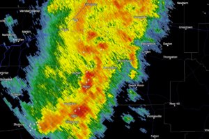 Strong Storms Affecting Marengo County