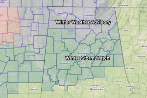 Winter Storm Watch Tomorrow