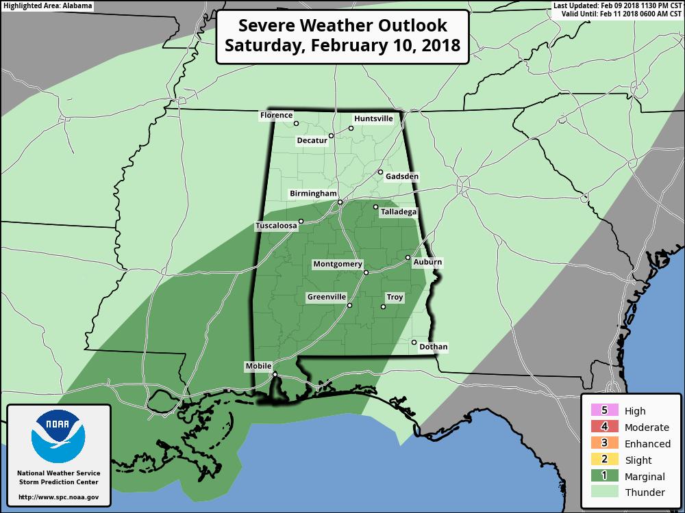 Brian Peters: Wet weather next three days in Alabama - Alabama ...