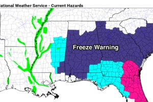 Freeze Warning Again Tonight; Warmer Tomorrow