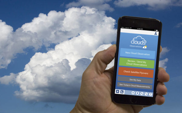 NASA' Globe Observer app helps citizen scientists contribute ground observations of clouds