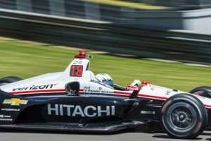 Newgarden On The Pole For The Honda Indy Grand Prix Of Alabama