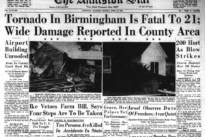 Today In Weather History:  The 1956 McDonald Chapel Tornado