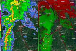 Line of Storms Will Reach Birmingham Metro Between 7:45-8:45 p.m.
