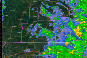 Central Alabama Counties Cleared from Tornado Watch, Continues for Southeast Alabama
