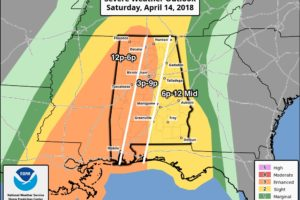 A Look At The Alabama Severe Weather Situation