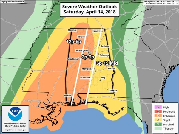 A Look At The Alabama Severe Weather Situation The Alabama Weather