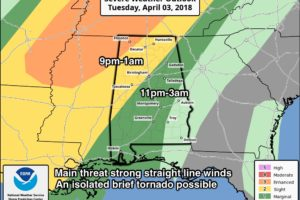 Strong/Severe Storms Arrive Late Tonight