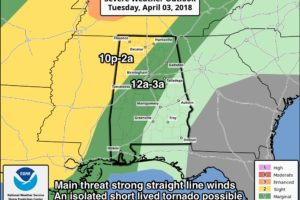 Strong Storms Late Tomorrow Night; Frost Early Thursday