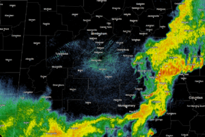 Strong Storms Still Possible Over SE Parts of Central Alabama For Next Hour Or So