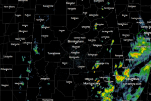 Scattered Showers In Parts Of The Area At Midday, Mostly Sunny Skies Elsewhere