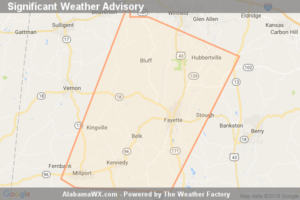 Significant Weather Advisory For Western Fayette And Southeastern Lamar Counties Until 5:30 PM CDT