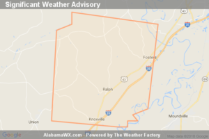 Significant Weather Advisory For Southwestern Tuscaloosa And Northeastern Greene Counties Until 4:15 PM CDT