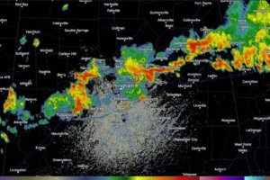 Strong Storms Continue Across North Central Alabama With Torrential Rain, Lightning, Gusty Winds and Some Hail